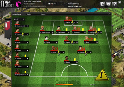 11 Legends – Das Fussballmanager Browsergame 3