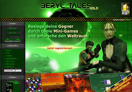 BerylTales – Das Science Fiction MMORPG 1