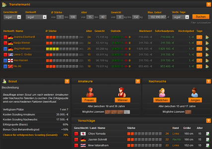 Online Boxing Manager – der kostenlose Boxmanager 3