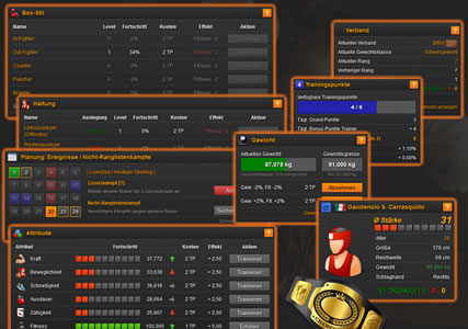 Online Boxing Manager – der kostenlose Boxmanager 4