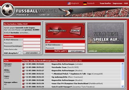 fussball manager spiele online