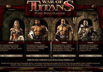 War of Titans – Gladiator Actionspiel 2