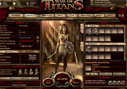 War of Titans – Gladiator Actionspiel 3