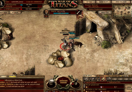 War of Titans – Gladiator Actionspiel 4
